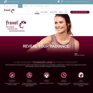 Fraxel - Skin Resurfacing Treatment