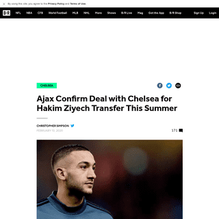 Ajax Confirm Deal with Chelsea for Hakim Ziyech Transfer This Summer - Bleacher Report - Latest News, Videos and Highlights