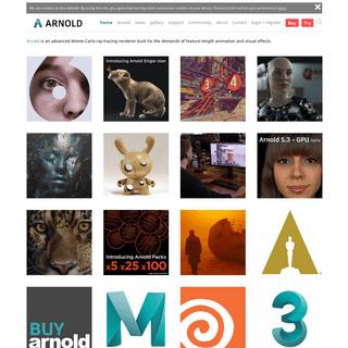 Arnold Renderer - Autodesk - Arnold Renderer