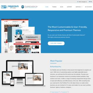 Rigorous themes- Responsive and Premium WordPress Themes