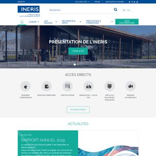 Institut national de l'environnement industriel et des risques