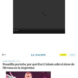 ArchiveBay.com - www.lanacion.com.ar/espectaculos/el-dia-publico-argentino-decepciono-kurt-cobain-nid2335630 - Pesadilla porteña- por qué Kurt Cobain odió el show de Nirvana en la Argentina - LA NACION