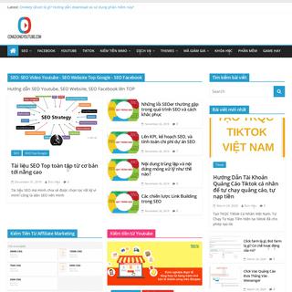 Congdongyoutube - Blog kiến thức Seo, MMO, Marketing online
