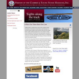 HOME - Friends of the Cumbres & Toltec Scenic Railroad, Inc.
