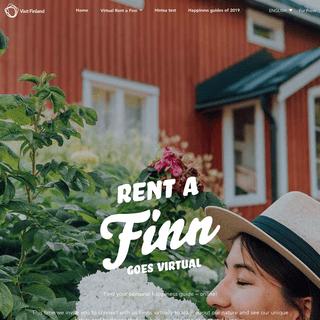 Find your calm - Rent a Finn