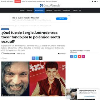 ¿Qué fue de Sergio Andrade tras tocar fondo por la polémica secta sexual-