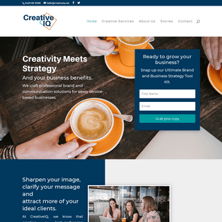 ArchiveBay.com - creativeiq.net - Branding & Communications Strategists - CreativeIQ
