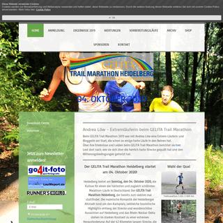 GELITA Trail Marathon Heidelberg - GELITA Trail Marathon Heidelberg - 6. Oktober 2019