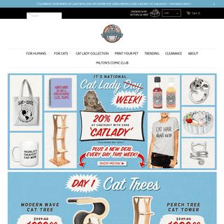 Cat Store Online - Cat Trees, Cat Apparel & More
