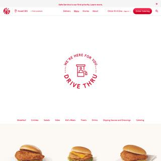Home of the Original Chicken Sandwich - Chick-fil-A