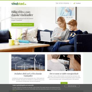 Vindstød - Billig el fra danske vindmøller