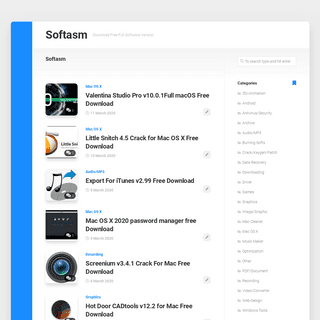 Softasm - Download Free Full Software Version