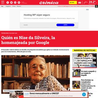 Quién es Nise da Silveira, la homenajeada por Google - Crónica - Firme junto al pueblo
