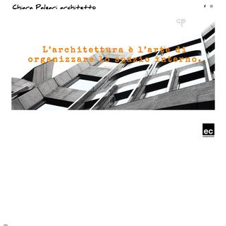 Architetto Chiara Paleari – Architettura – Grafica – Fotografia – Bodio Lomnago (Va) – Italy