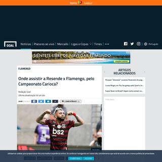Onde assistir a Resende x Flamengo, pelo Campeonato Carioca- - Goal.com