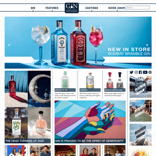 Gin Foundry - The Home of Gin. Hundreds of Gin reviews, cocktails and...