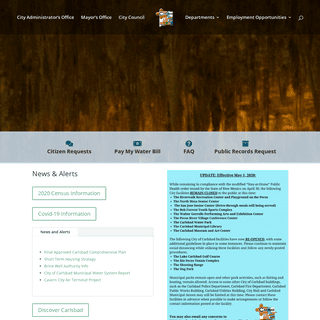 Carlsbad, New Mexico - Official City Website -