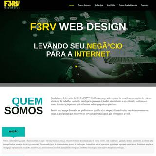 F3RV Web Design - Criação de Sites e Lojas Virtuais