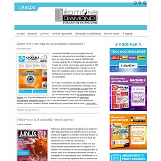 Le blog des Editions Diamond - Le blog des Editions Diamond