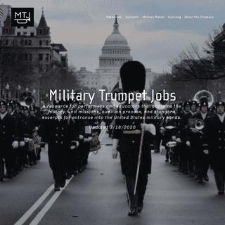 Military Trumpet Jobs
