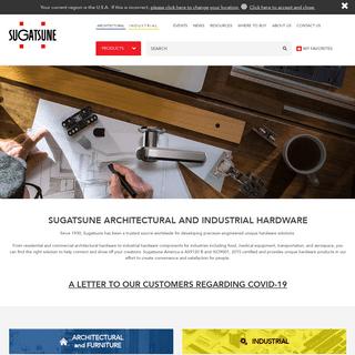 Industrial & Architectural Component Hardware - Sugatsune America