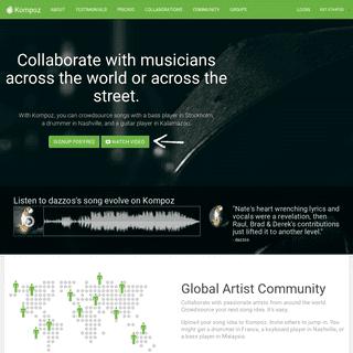 ArchiveBay.com - kompoz.com - Kompoz Music Collaboration