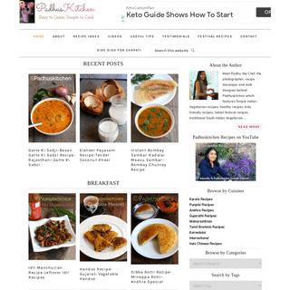 Padhuskitchen - Easy Indian Vegetarian Recipes