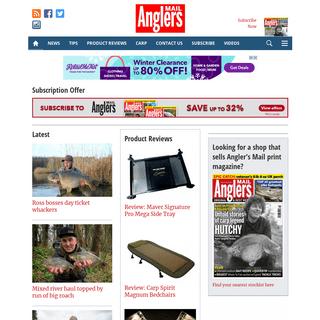 Anglers Mail « coarse fishing, tackle Anglers Mail
