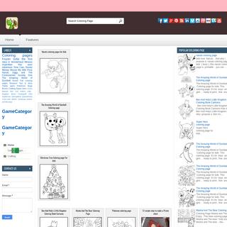 Coloring Draw - Your Blog Description