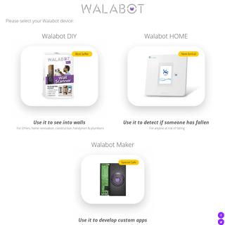 Walabot Official Site - Sensors For Home Renovation, Senior Care & Developers
