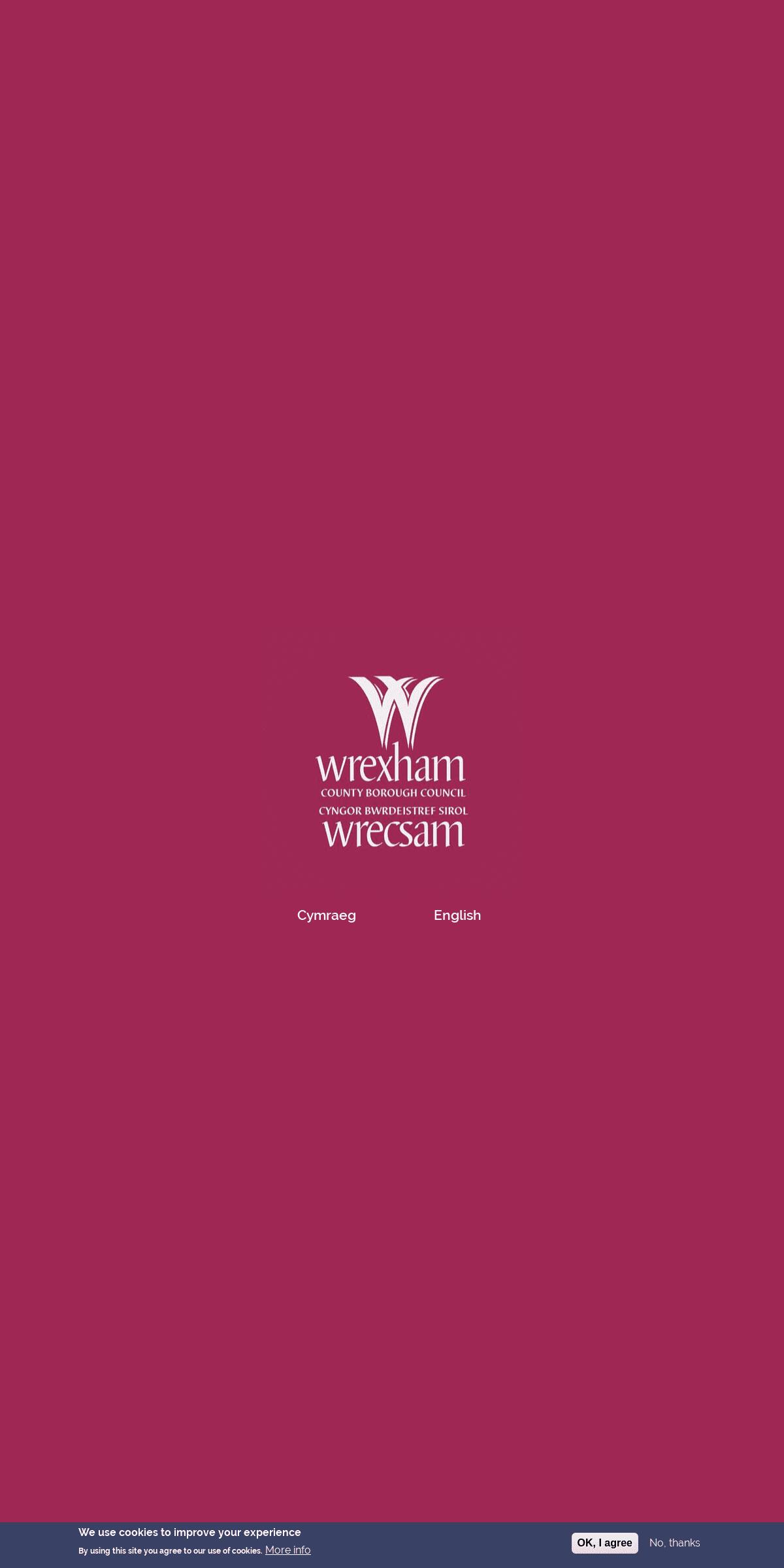 Cyngor Bwrdeistref Sirol Wrecsam - Wrexham County Borough Council