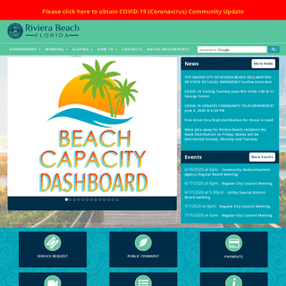 Welcome to Riviera Beach, Florida - Riviera Beach, Florida (FL)