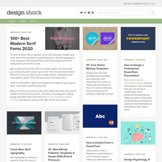 Design Articles, Inspiration & Guides - Design Shack