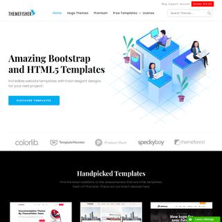 Best Responsive HTML5 Bootstrap Website Templates