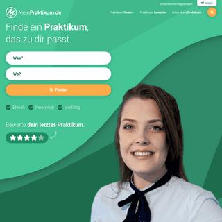 Praktikum finden - Freie Stellen für Praktika auf MeinPraktikum.de
