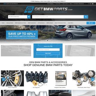 ArchiveBay.com - getbmwparts.com - Shop Genuine OEM BMW Parts and Accessories - getBMWparts
