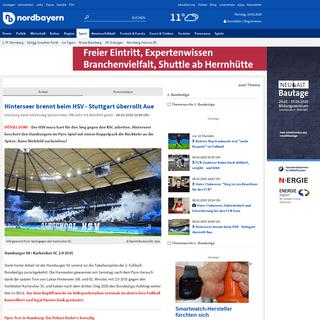 Hinterseer brennt beim HSV - Stuttgart überrollt Aue - Sport - nordbayern.de