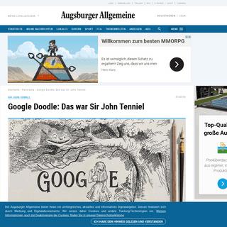Google Doodle- Wer war Sir John Tenniel-
