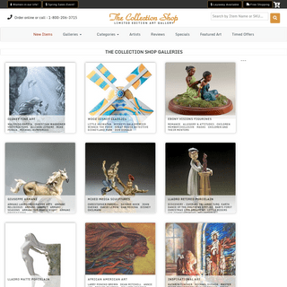 Limited Edition Art and Collectibles Gallery