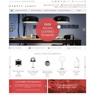 Harvey James - Luxury Lighting & Furniture Store