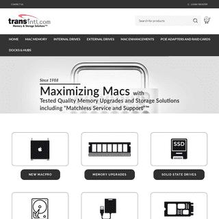 Apple Mac Upgrades - Buy RAM, SSD Flash, External Drives Online in USA