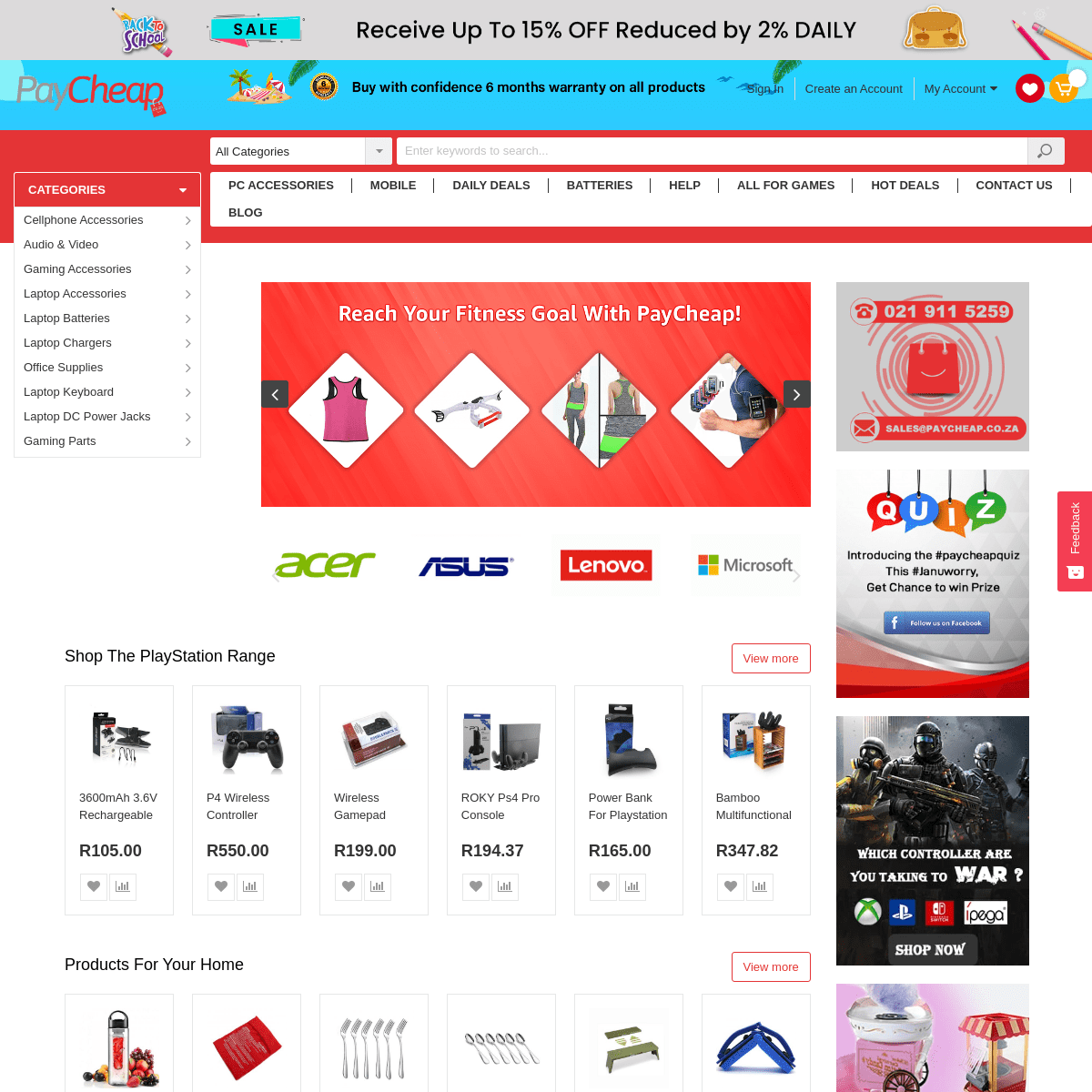 ArchiveBay.com - paycheap.co.za - PayCheap- Online Shopping in South Africa