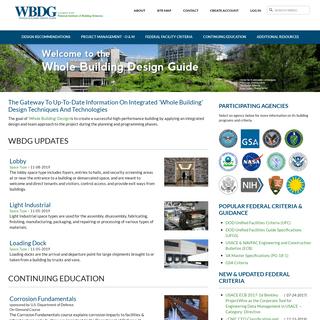 WBDG - WBDG - Whole Building Design Guide