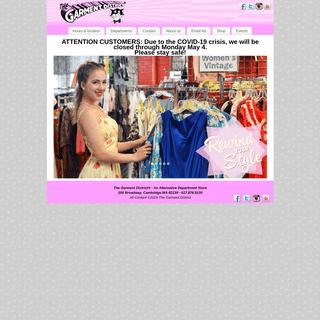 An Alternative Department Store - Garment District