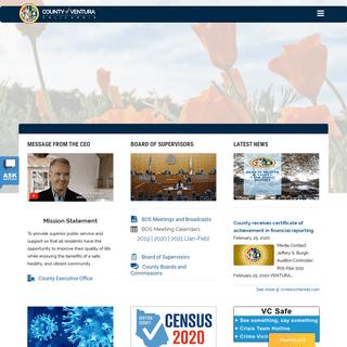 Homepage - Ventura County
