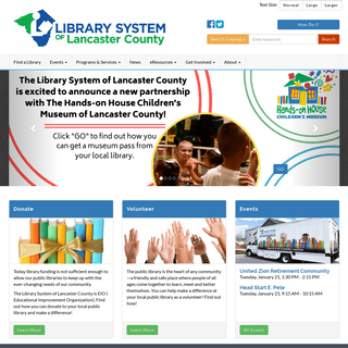 Home - Library System of Lancaster County
