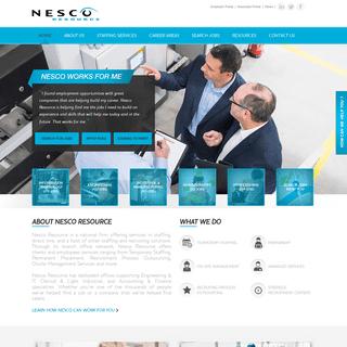 Careers at Nesco Resource - Home