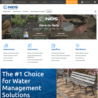 Stormwater Management Solutions & Products - NDS