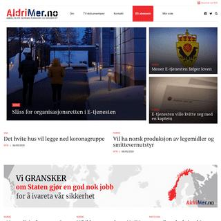 aldrimer.no – Vi gransker Norges forsvarsevne og sikkerhet