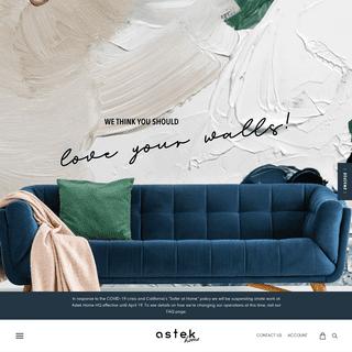 Design Your Custom Wallpaper - Astek Home - Astek Home
